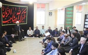 مراسم سوگواری حضرت ابا عبدالله الحسین (ع) در دانشگاه علوم پزشکی بوشهر