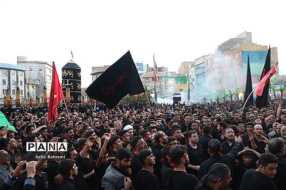 مراسم عزاداری تاسوعای حسینی درشهر قدس