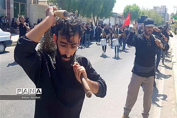 عزاداری روز تاسوعا در شهر بوشهر