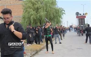 مراسم عزاداری روز تاسوعا با حضور پرشور مردم  این استان