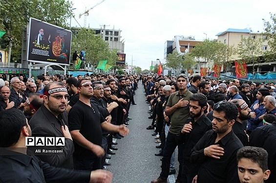 اجتماع عاشوراییان حسینی در قائمشهر