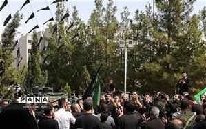 برگزاری مراسم عزاداری ابا عبدالله حسین(ع)  درخاورشهر