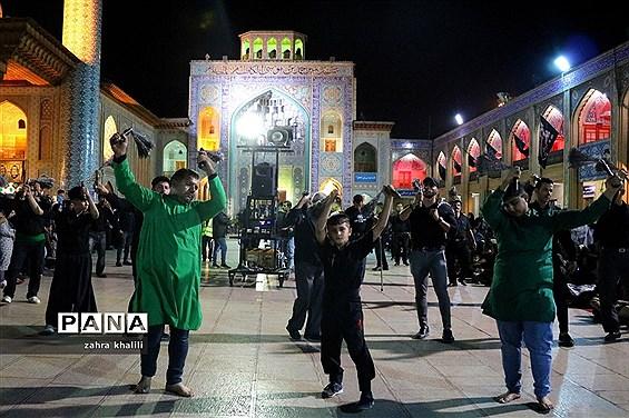 عزاداران حسینی در شیراز