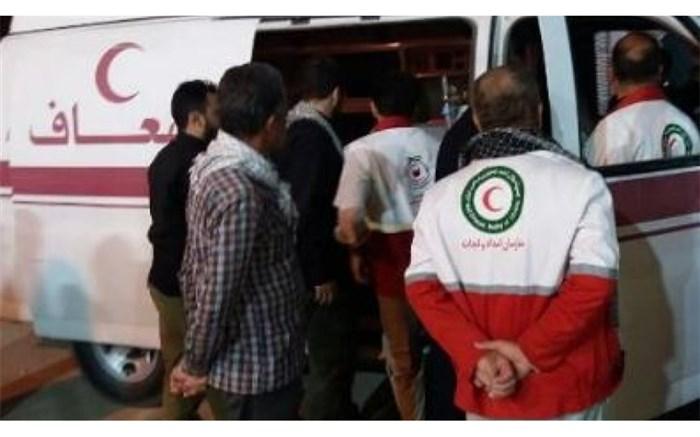 هلالاحمر: هیچ زائر ایرانی در حادثه سقوط دیوار بتنی کربلا آسیب ندیده است