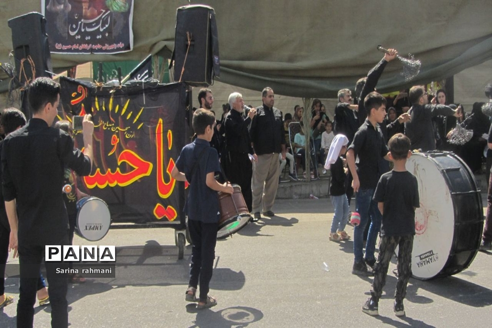 عزاداری روز عاشورا در کرمانشاه