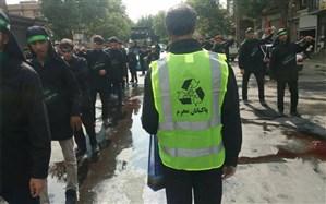 ۲۰۰ شهروند ارومیهای در ایام تاسوعا و عاشورا پاکبان محرم شدند
