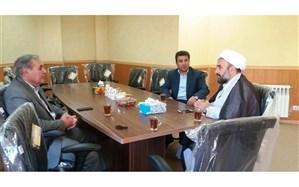 دیدار مدیر کل آموزش و پرورش اردبیل با رئیس شورای سیاستگذاری ائمه جمعه استان
