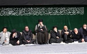 آخرین شب عزاداری اباعبدالله الحسین(ع) با حضور رهبر معظم انقلاب برگزار شد
