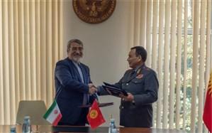 امضا توافقنامه امنیتی بین ایران و قرقیزستان