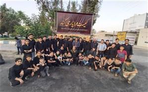 ایستگاه صلواتی دانش آموزی در شهرستان کازرون