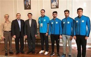 دیدار بعیدینژاد با اعضای تیم شنای پارالمپیک کشور