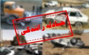 ۵ مصدوم در حادثه رانندگی در جنوب سیستان و بلوچستان