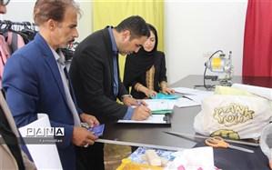 بازدید همکاران سازمان دانش آموزی وکارشناس اصناف  از کارگاه های تولید لباس فرم مدارس