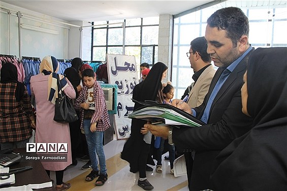 بازدید از فرایند تولید و ارائه لباس فرم مدارس در بجنورد