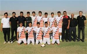 راهیابی تیم فوتبال نوجوانان سنگ آهن بافق به لیگ کشور