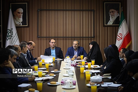 جلسه هماهنگی دومین نشست نهمین دوره مجلس دانشآموزی برگزار شد