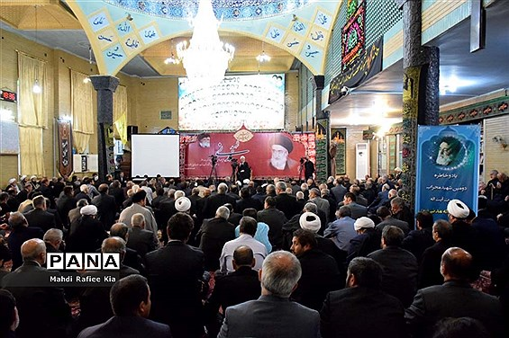 مراسم بزرگداشت سالگرد شهادت آیت الله مدنی در تبریز