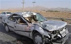 5 کشته و 11 زخمی نتیجه واژگونی خودرو در جاده یزد- میبد