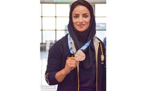 بانوی قایقران کرمانشاهی مدال نقره مسابقات آزمایشی المپیک توکیو را کسب کرد