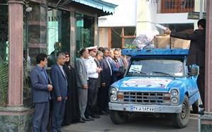 ارسال وسایل ورزشی به مدارس استان گیلان