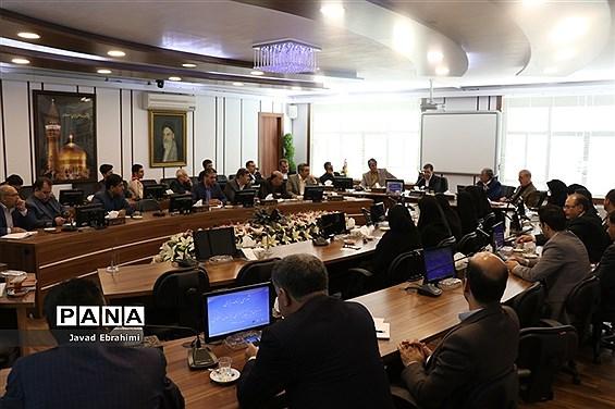 نشست شورای برنامهریزی سازمان دانشآموزی خراسان رضوی