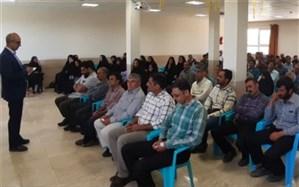 جلسه هم اندیشی خدمتگزاران و سرایداران مدارس شهرستان سمیرم