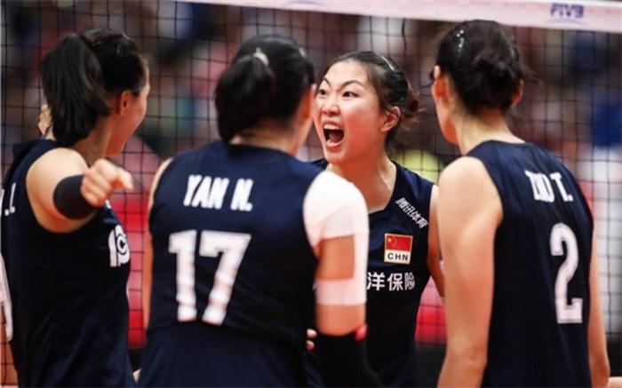 تیم ملی والیبال زنان چین