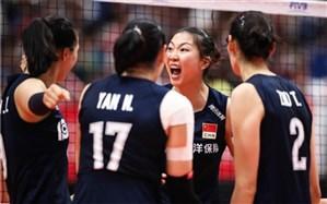 جام جهانی والیبال زنان؛ صدرنشینی چین با تاریخسازی هلند همگام شد