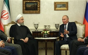 روحانی: رایزنیها و تعامل ایران و روسیه در تامین منافع دو ملت و منطقه است