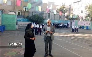 بازدید از پروژه مهر 98 مدارس منطقه 11