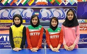 مسابقات تنیس روی میز دختران منطقه ۱۱ کشور در بوشهر آغاز شد