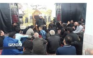 برگزاری عزاداری دهه دوم محرم در روستای فروتقه کاشمر
