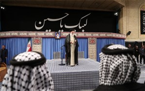 دیدار جمعی از موکبداران عراقی با رهبری