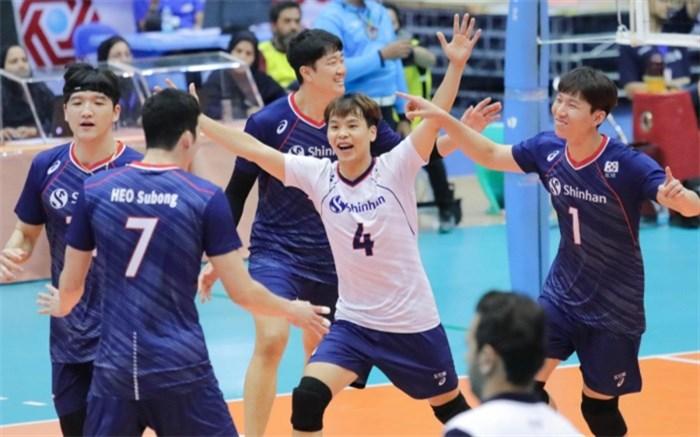 تیم ملی والیبال کره جنوبی