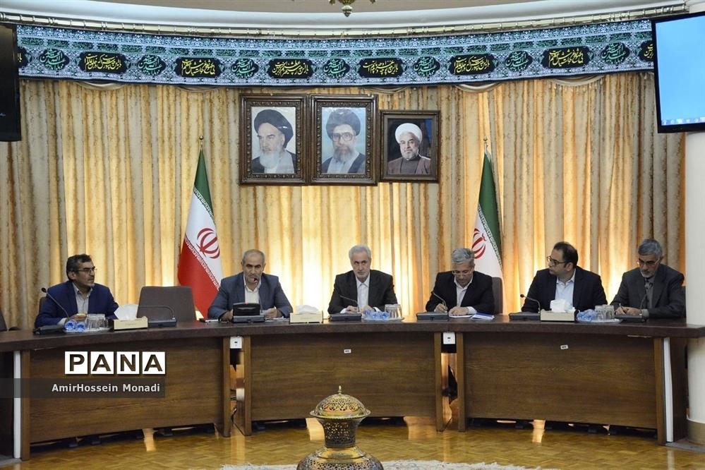 چهارمین جلسه شورای آموزش و پرورش استان در سال ۹۸