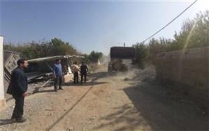 8 مورد ساخت و ساز غیرمجاز در شهرستان فردیس تخریب شد