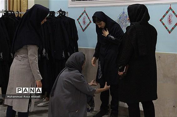 توزیع لباس فرم مدارس در شیراز
