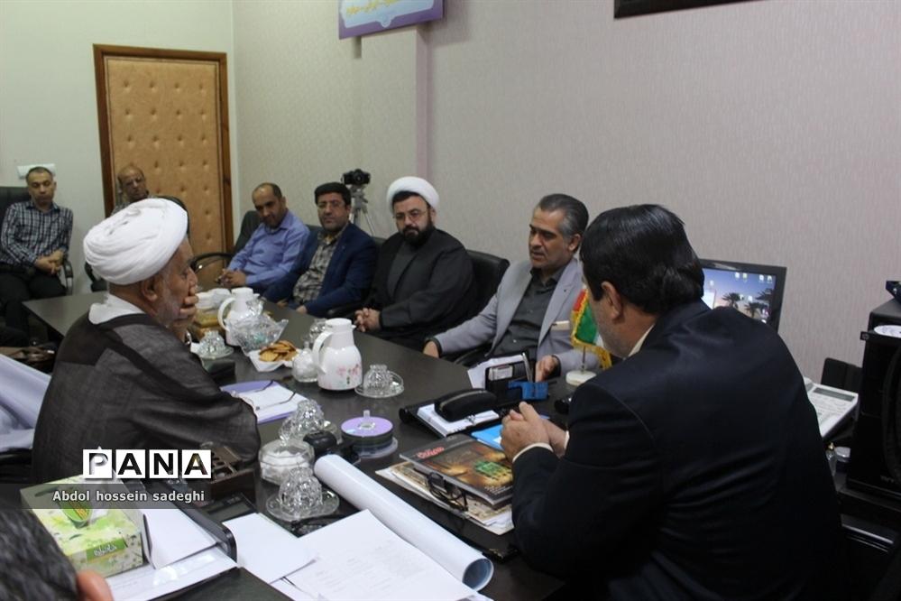 جلسه هماهنگی کمیته اطلا عرسانی و تبلیغات ستاد اجلاس اقامه نماز استان بوشهر