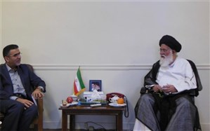 دیدار دبیرکل کمیسیون ملی یونسکو-ایران با آیت الله علم الهدی