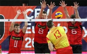 والیبال قهرمانی اروپا؛ ماتادورها با شکست صعود کردند