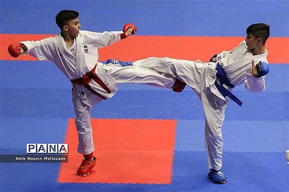 پانزدهمین دوره مسابقات بین المللی کاراته در ارومیه رده سنی نوجوانان