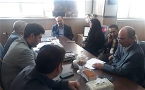 آیین ویژه بازگشایی مدارس در شهرری