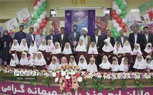 آیین نمادین جشن شکوفه ها ی استان در ناحیه یک بندرعباس برگزار شد