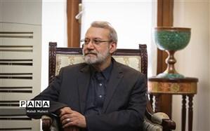 لاریجانی:  بخشی از مشکلات ایران با کشورهای همسایه بر سر دموکرات بودن عراق است