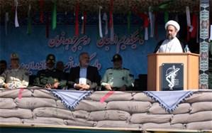 مراسم رژه نیروهای مسلح استان سیستان و بلوچستان برگزار شد