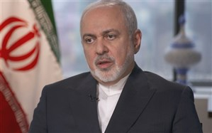 ظریف در مصاحبه با سیبیاس: آمریکا برای نشان دادن حسن نیت دانشمند ایرانی را آزاد کند