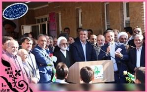با حضور وزیر راه و شهرسازی؛ دبستان دکتر محمد علی کامروا  افتتاح شد