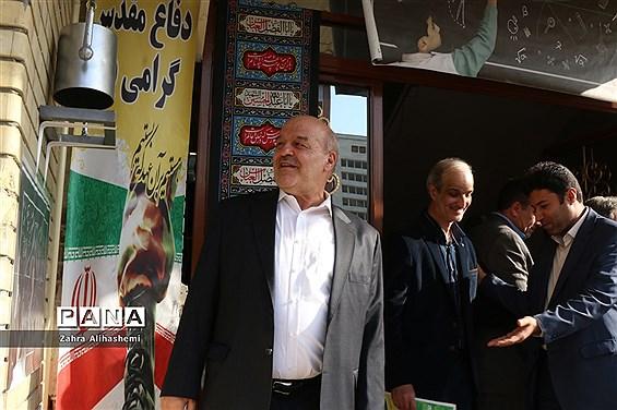 نواخته شدن زنگ سال تحصیلی جدید در دبیرستان شهید مفتح