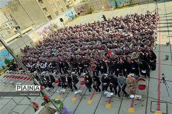 جشن بازگشایی مدارس آموزش و پرورش ناحیه یک کرمانشاه