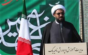 کشوری که به دنبال اجرای حاکمیت اسلامی است قطعاً برای مستکبران خطر آفرین خواهد بود